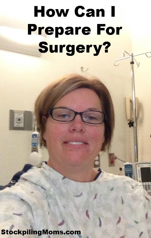 How can I prepare for surgery?