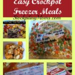 10 Crockpot Freezer Meals Collage