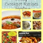 10 Healthy Crockpot Recipes Collage