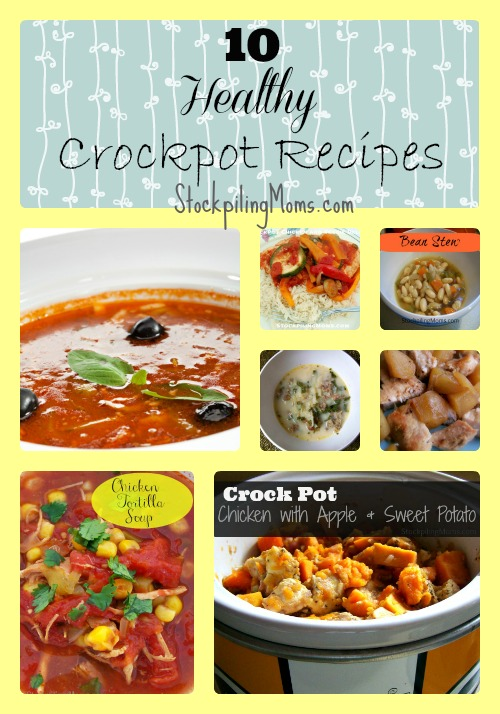 10 Healthy Crockpot Recipes