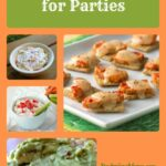 Appetizer Recipes Collage