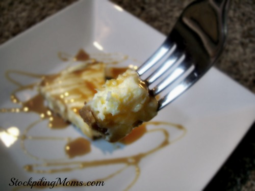 If you love cheesecake and you love caramel then this is the must have dessert recipe for you!
