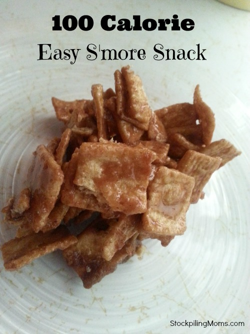 100 Calorie S'mores Snack is a delicious treat!