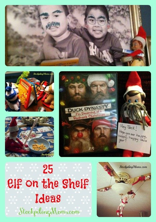 Elf on the Shelf Collage