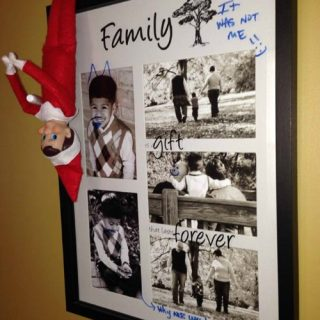 Graffiti Elf on the Shelf® Idea