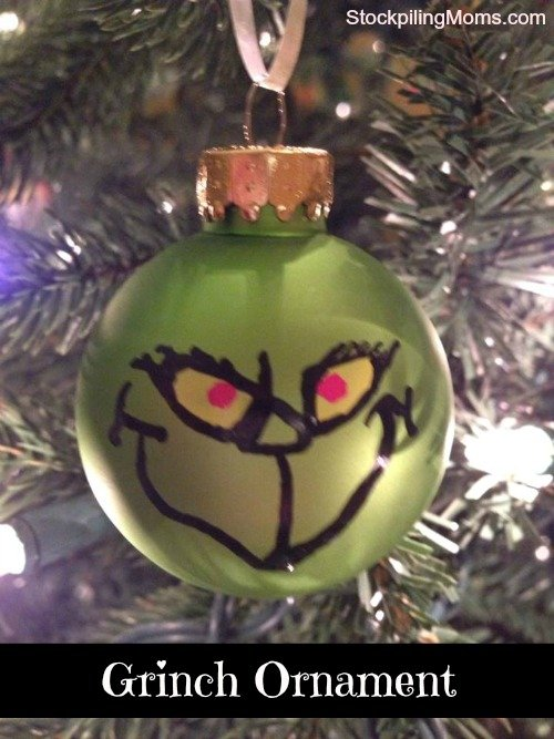 how the grinch stole christmas party grinch ornament - How The Grinch Stole Christmas Decorations