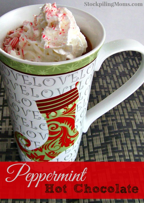 Peppermint Hot Chocolate Recipes - This creamy peppermint beverage will have you wanting more!
