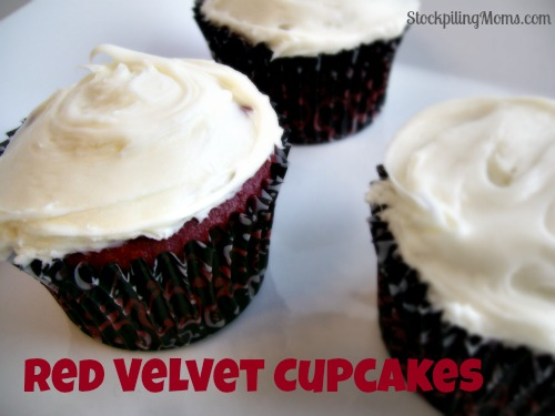 These Red Velvet Cupcakes are too die for! So moist and delicious! They are perfect for Valentine's Day and Christmas!!