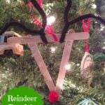 Reindeer  Popsicle  Ornament