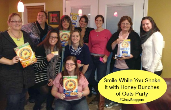 Smile While You Shake It with Honey Bunches of Oats Party Bloggers