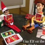 Uno Elf on the Shelf® Idea
