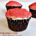 Valentine's Day Red Velvet Cupcake1