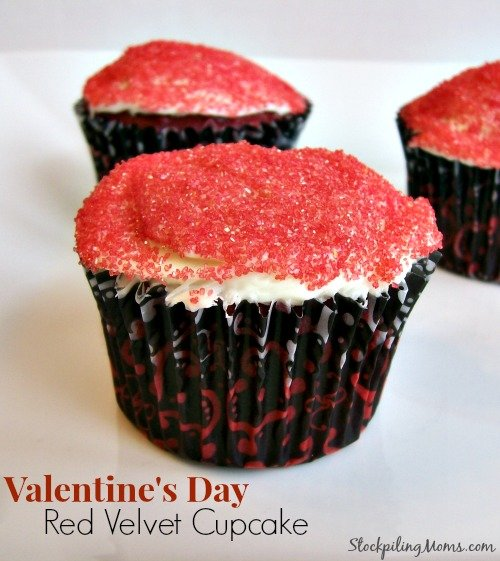 Valentine's Day Red Velvet Cupcake is perfect for that someone special!