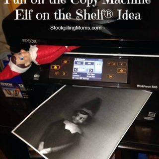 Copy Machine Elf on the Shelf® Idea