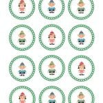 elf label toppers