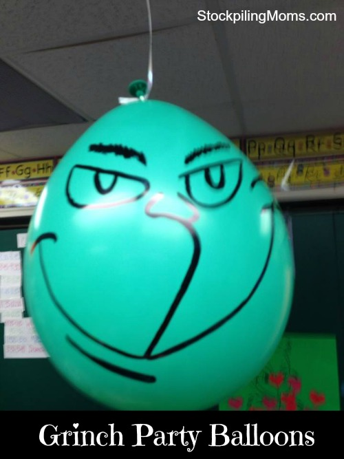 How the Grinch Stole Christmas Party - Grinch Party Balloon