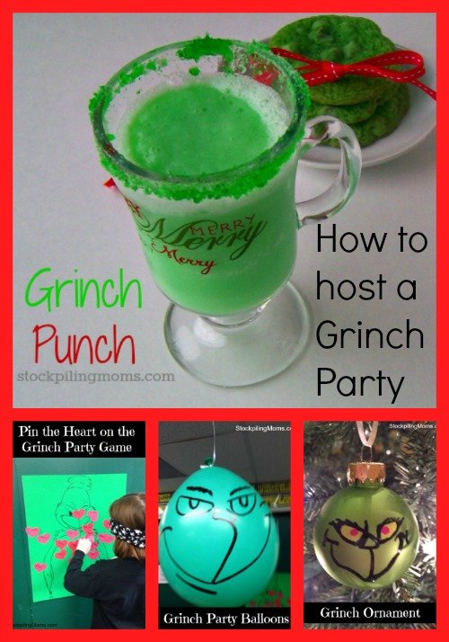 how to host a grinch party