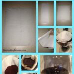 how to make a coffee filter from a paper towel