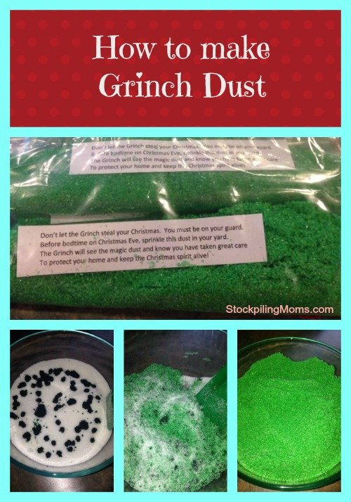 How the Grinch Stole Christmas Party - How to make grinch dust