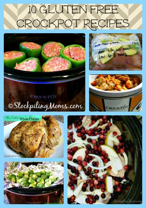 10 Gluten Free Crockpot Recipes that are scrumptious and healthy!