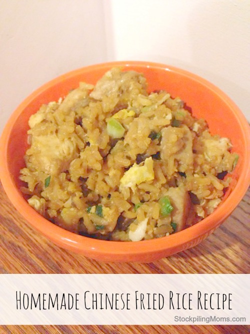 Homemade Chinese Fried Rice is BETTER than takeout! This is a family favorite recipe that we all love!