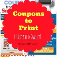 Coupons to Print