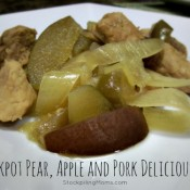 Crockpot Pear, Apple and Pork Deliciousness3