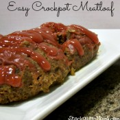 Easy Crockpot Meatloaf2