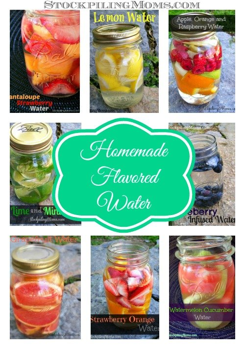 Flavored Water Collage