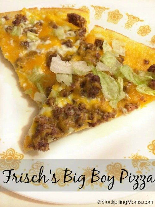 Frisch's Big Boy Pizza Recipe