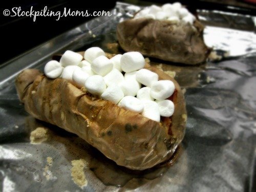 This Loaded Baked Sweet Potato is the perfect side dish to any meal!