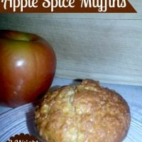 Low Fat Apple Spice Muffins