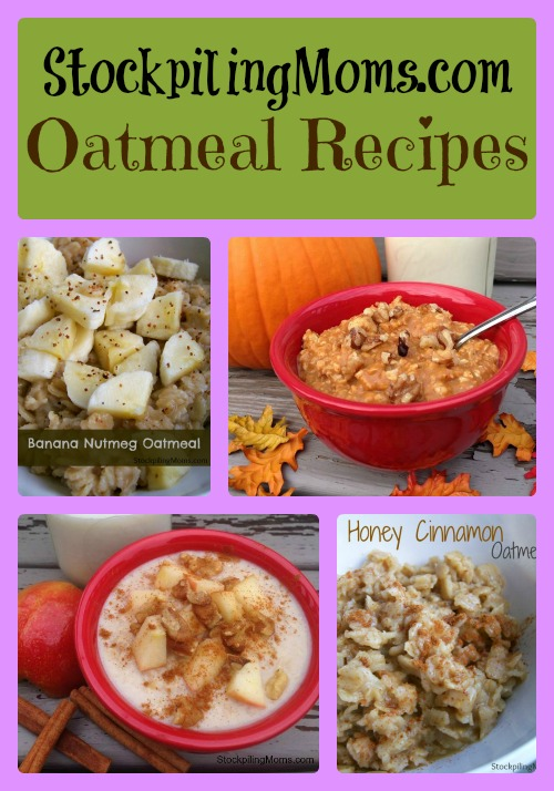 7 Oatmeal Recipes that will make you happy to start the day!