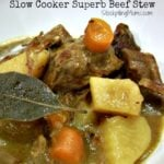 Slow Cooker Superb Beef Stew