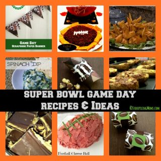 Super Bowl Game Party Recipes and Ideas