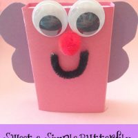 Valentine's Day Craft for Kids – Sweet & Simple Butterfly