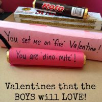Valentines that the BOYS will LOVE