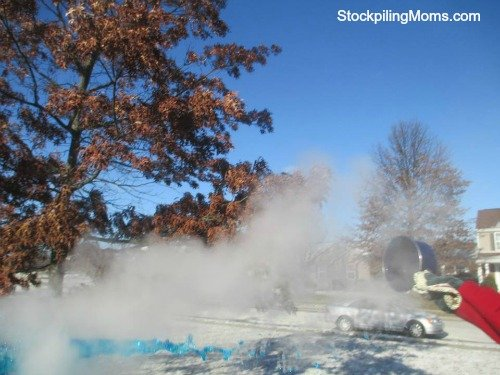 Can you turn boiling water to snow? Yes, you can! It is so cool!
