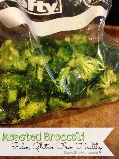 Roasted Broccoli is an amazing tasting Paleo and Gluten Free Recipe!