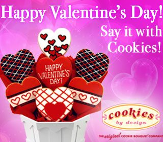 Happy Valentine's Day! Say it with Cookies!
