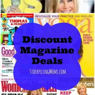 Discount Magazine Deals