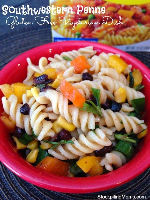 Southwestern Penne is fresh and light dish is gluten free, vegetarian and delicious!