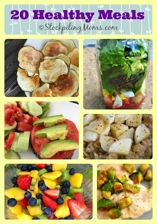 20 Healthy Meals Collage