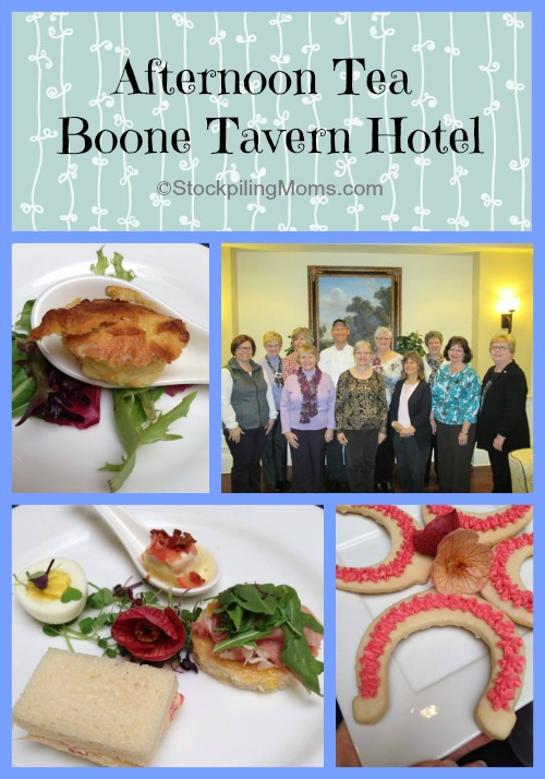 Afternoon Tea Boone Tavern Hotel