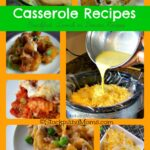 Casserole Recipes Collage