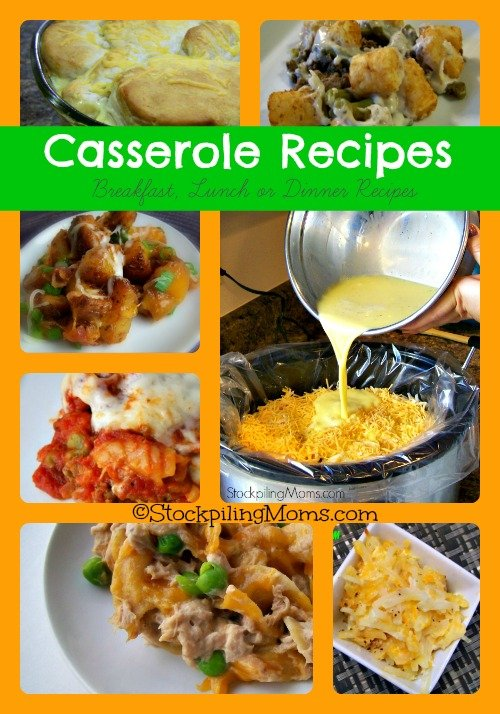 30 Casserole Recipes