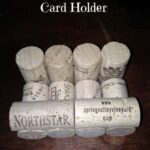 DIY Wine Cork Business Card Holder