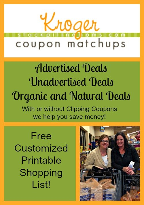 Kroger Grocery Store Deals & Coupon Matchup