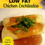 Low Fat Chicken Enchiladas final