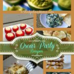 Oscar Party Recipes Collage